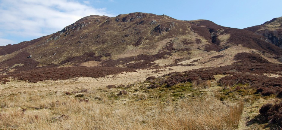 Beinn Each - it has a great look to it that tells you it's not going to be a hard day.