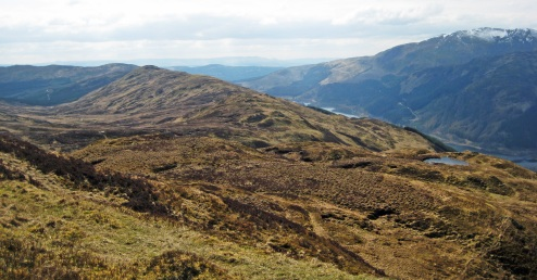 I did contemplate a wee wander along the south ridge...but I sensed bog!